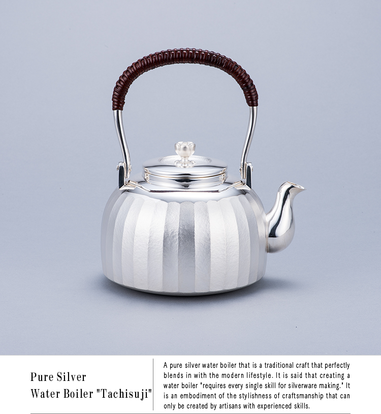 Pure Silver Water Boiler
