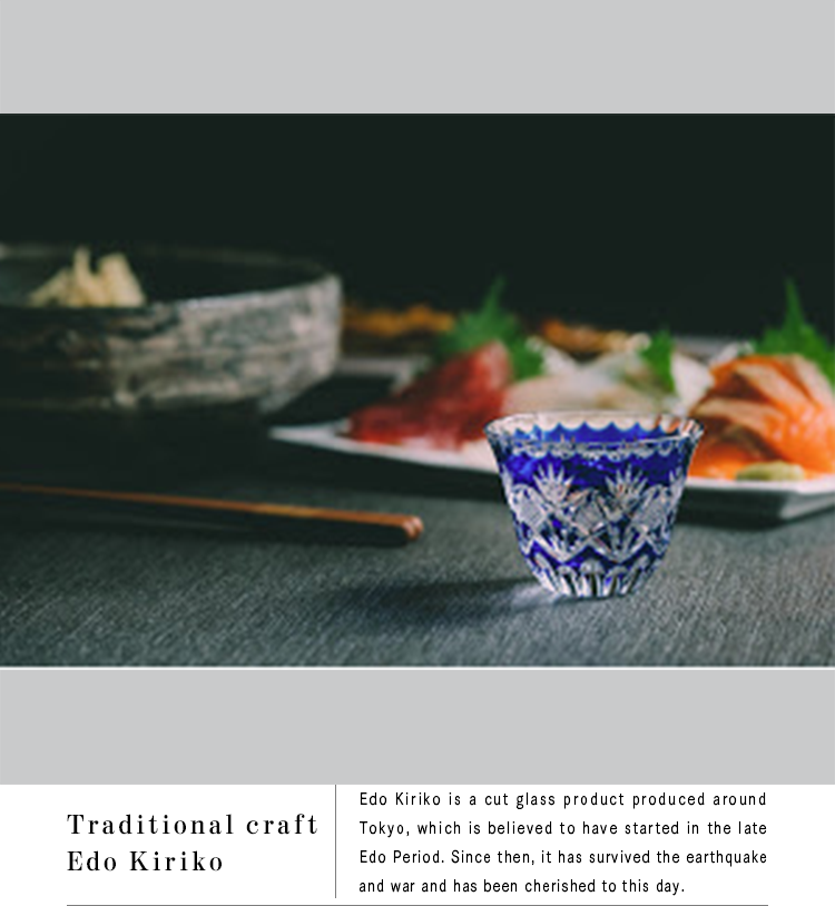 Traditional craft Edo Kiriko